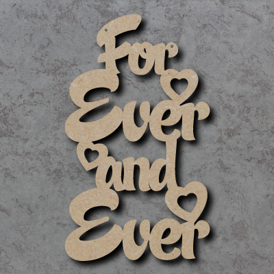 For Ever and Ever Sign
