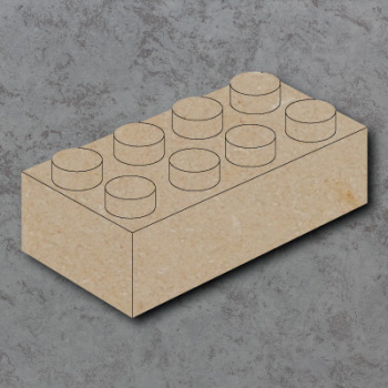 Building Brick Craft Shapes