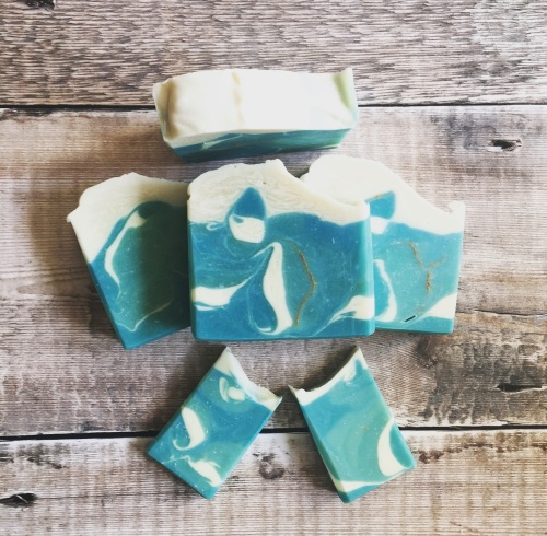 By the Sea ~ vegan soap bar
