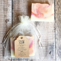Indian Summer ~ luxury vegan soap bar
