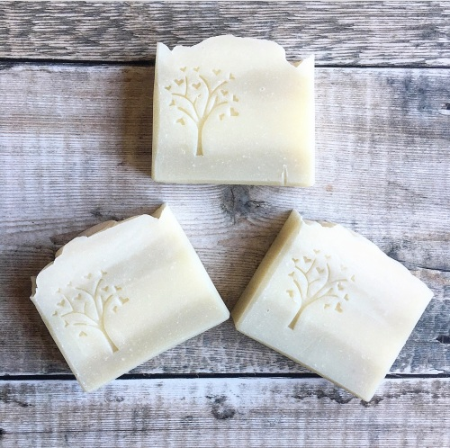 Peppermint and Rosemary ~ luxury vegan soap bar