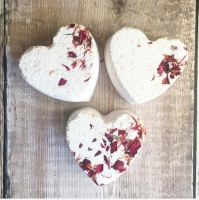 Rose geranium botanical bath bomb