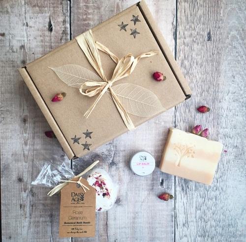Rose geranium gift box
