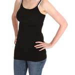 Black Feed Me Mummy Breastfeeding Vest