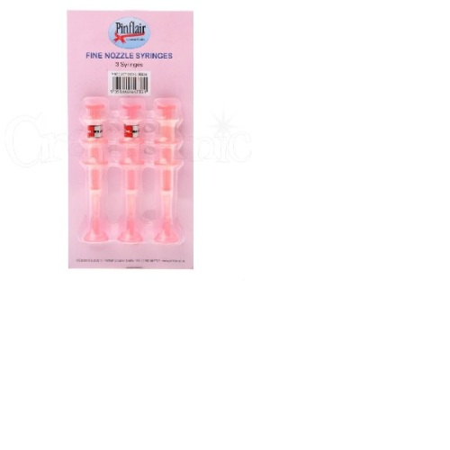 Pinflair Fine Nozzle Syringes