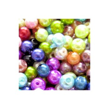 Pearl Effect Glass Beads