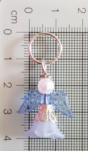 Stitch Markers for Knitting and Crochet (Bluebell) Flower Fairy