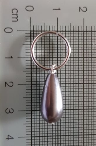 Stitch Markers for Knitting and Crochet (Moorland Ash)