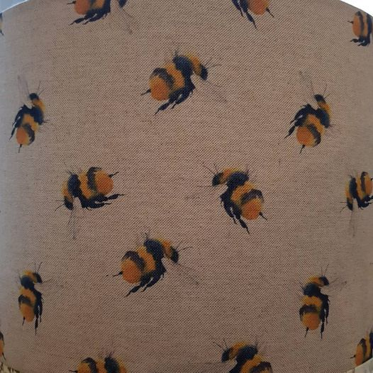 Handmade Bumble Bee Lampshade