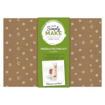 Llama Needle Felting Kit - Simply Make