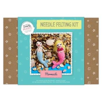 Mermaids Needle Felting Kit - Simply Make