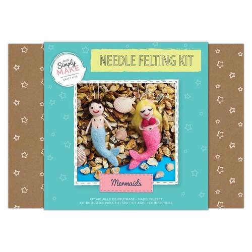 Mermaids Needle Felting Kit - Simply Make