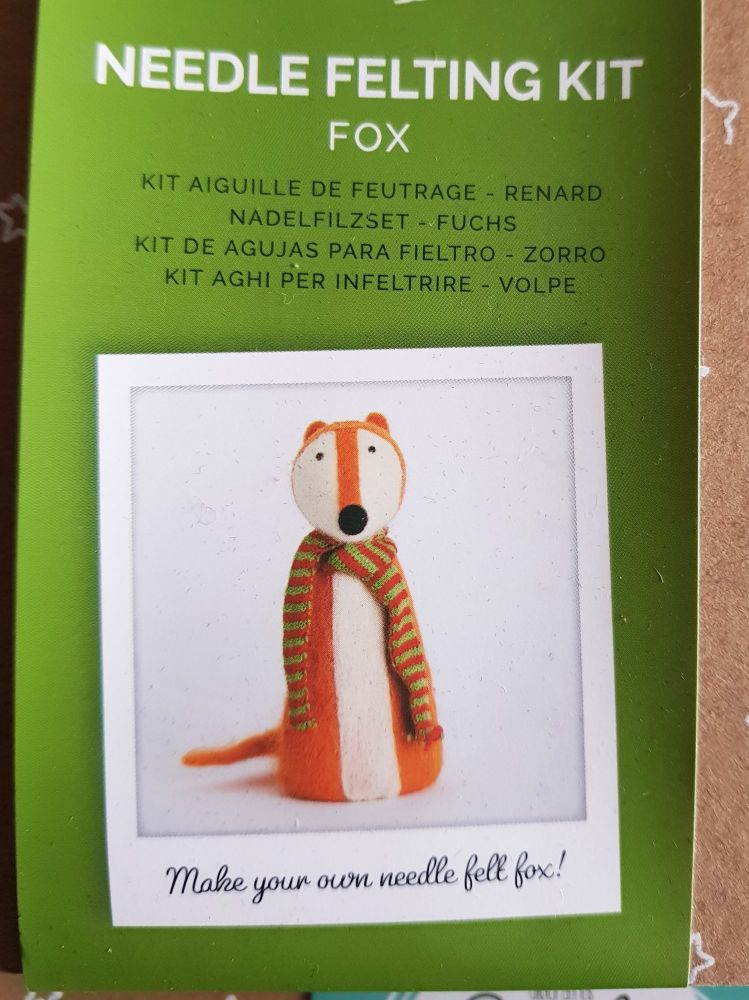 Fox Needle Felting Kit - Simply Make