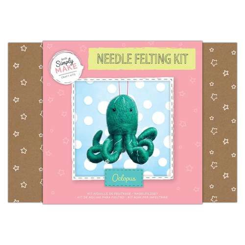 Octopus Needle Felting Kit - Simply Make