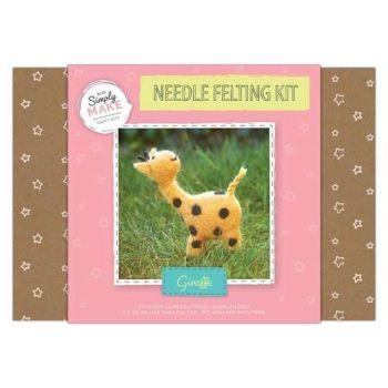 Giraffe Needle Felting Kit - Simply Make