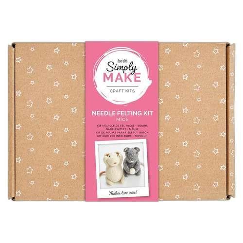 Mice Needle Felting Kit - Simply Make