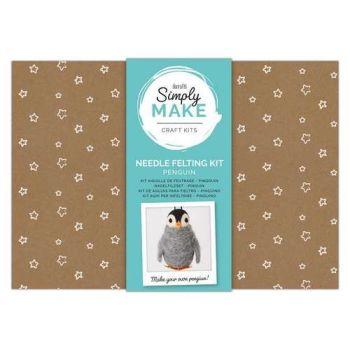 Penguin Needle Felting Kit - Simply Make
