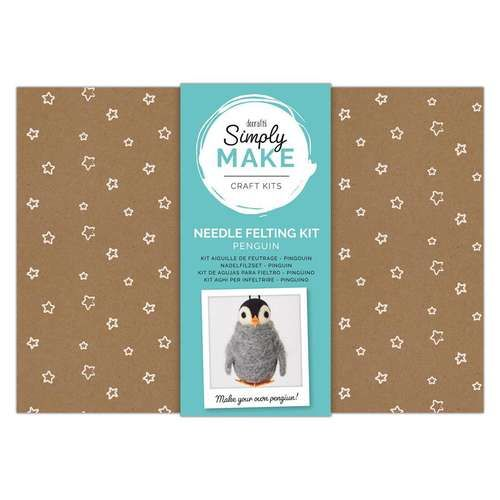 Penguin Needle Felting Kit - Simply Make