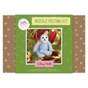Sloth Needle Felting Kit - Simply Make