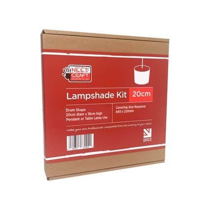 20cm drum lampshade making kit