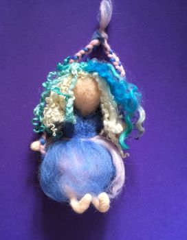 Fairy on a Swing - Needle Felting Workshop - Sat 26 June starting at 1pm
