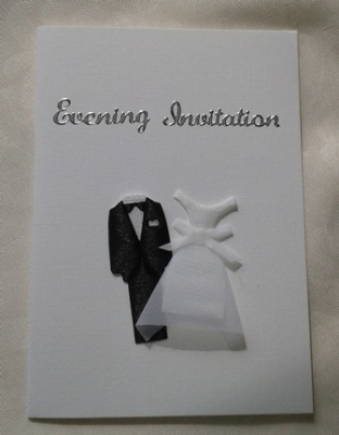 Handmade Diy Wedding Invitation Weddibrations