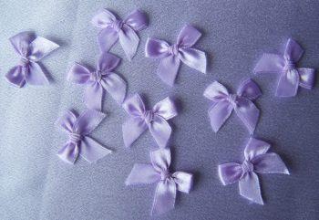 Organdie Lilac Bow