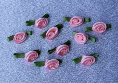 Pink Roses (Pack of 10)