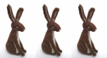 Hare Needle Felting Workshop - Sunday 10th October 2021