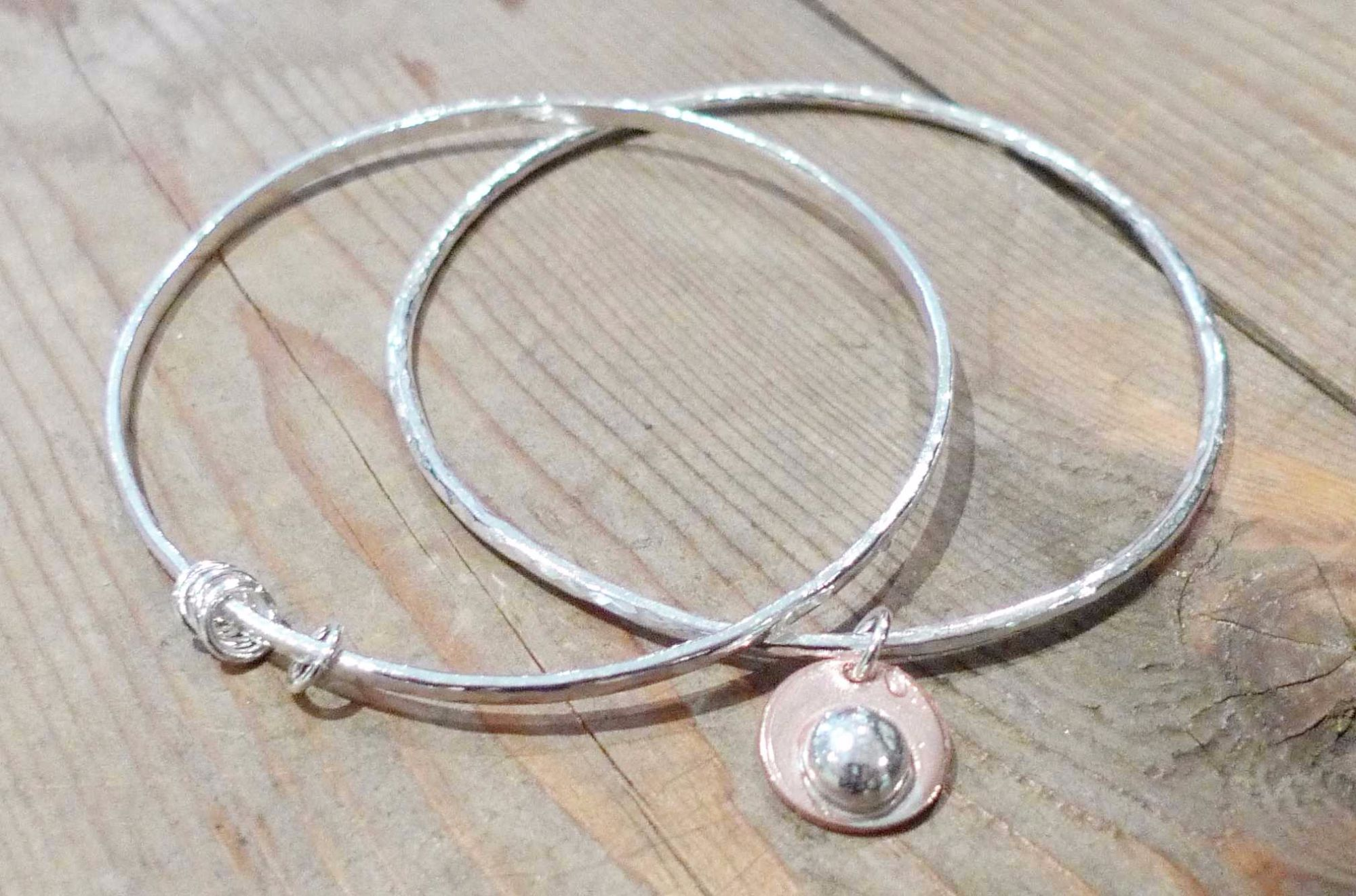 Silver Bangle Workshop - Loops and Discs