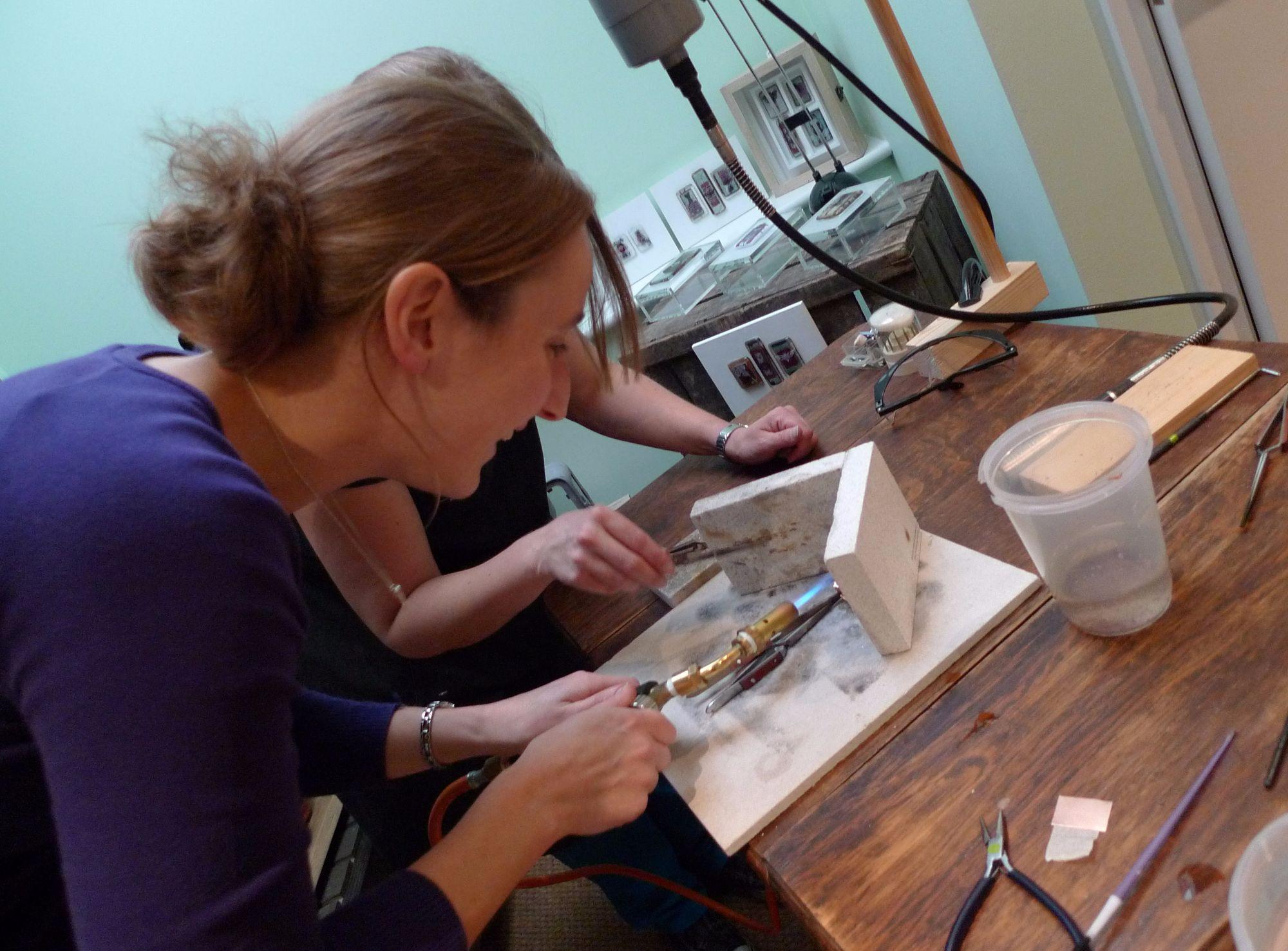 Silver Ring Workshop - Making