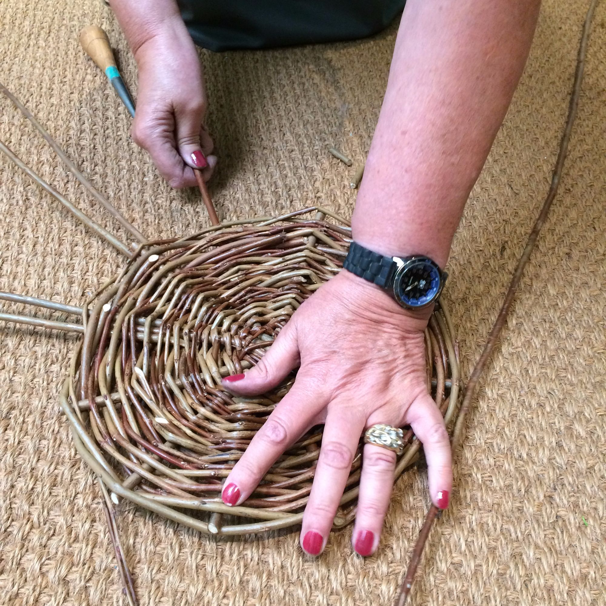 Basket Making Workshop: Fruit Basket - The Base