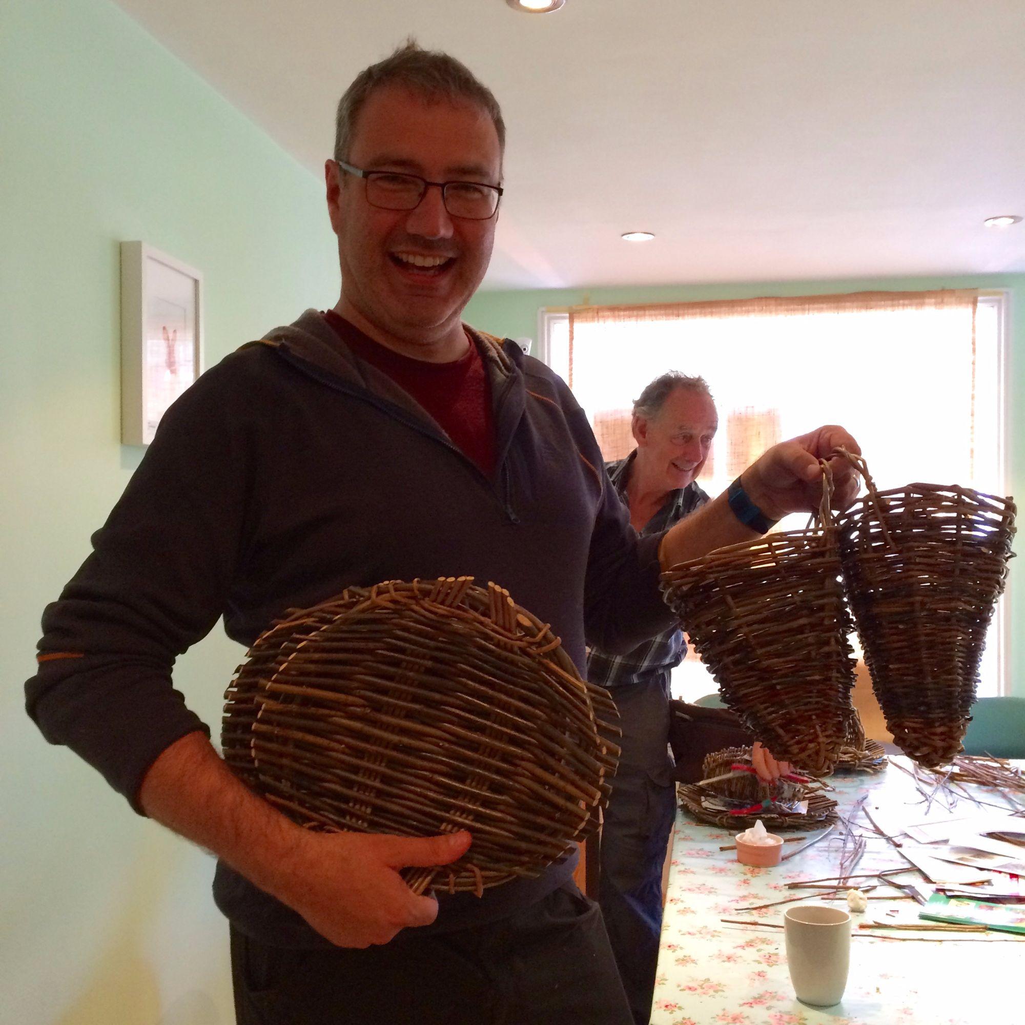 Basket Making Workshop: Platter and Herb Basket - Workshopper