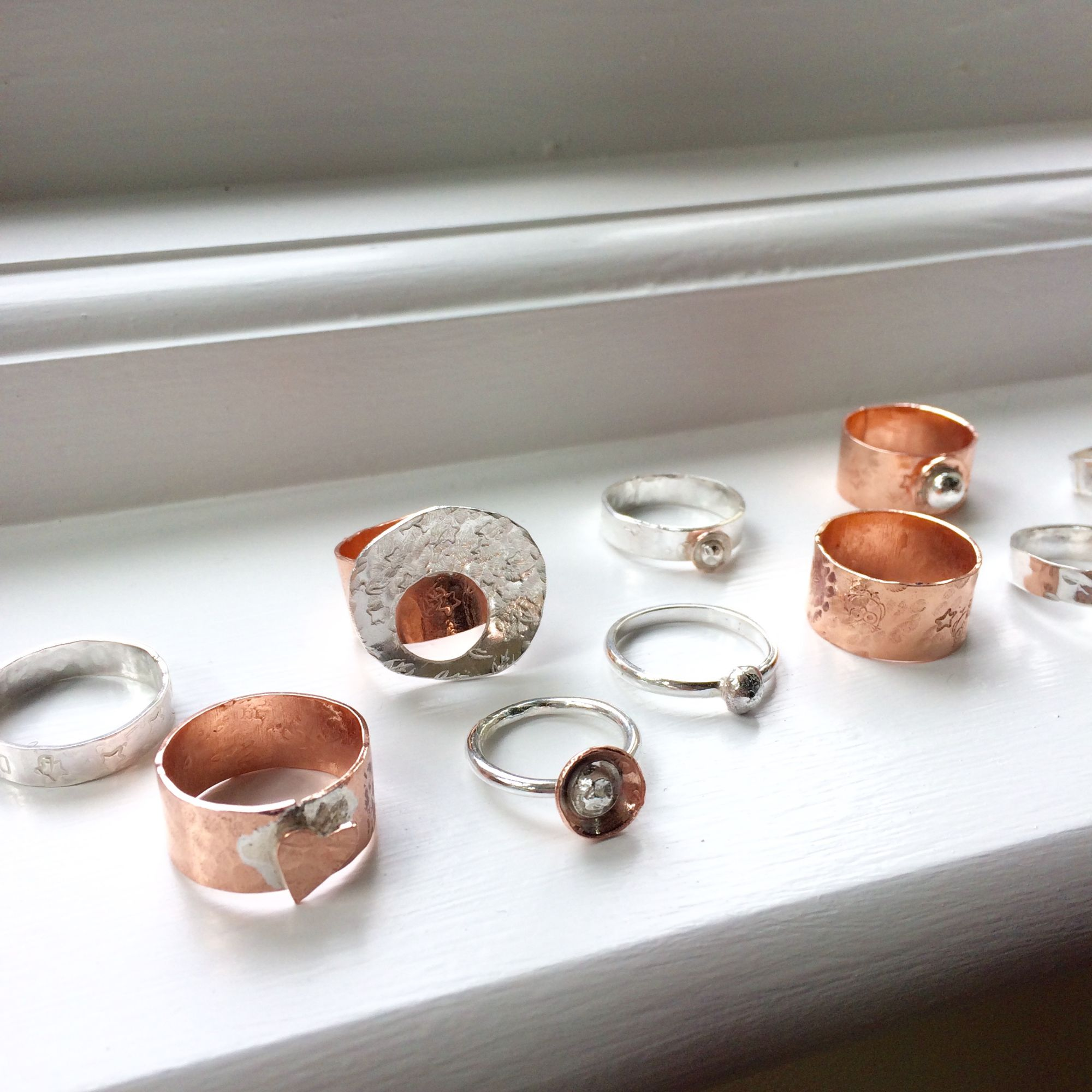 Silver Ring Workshop - Collection