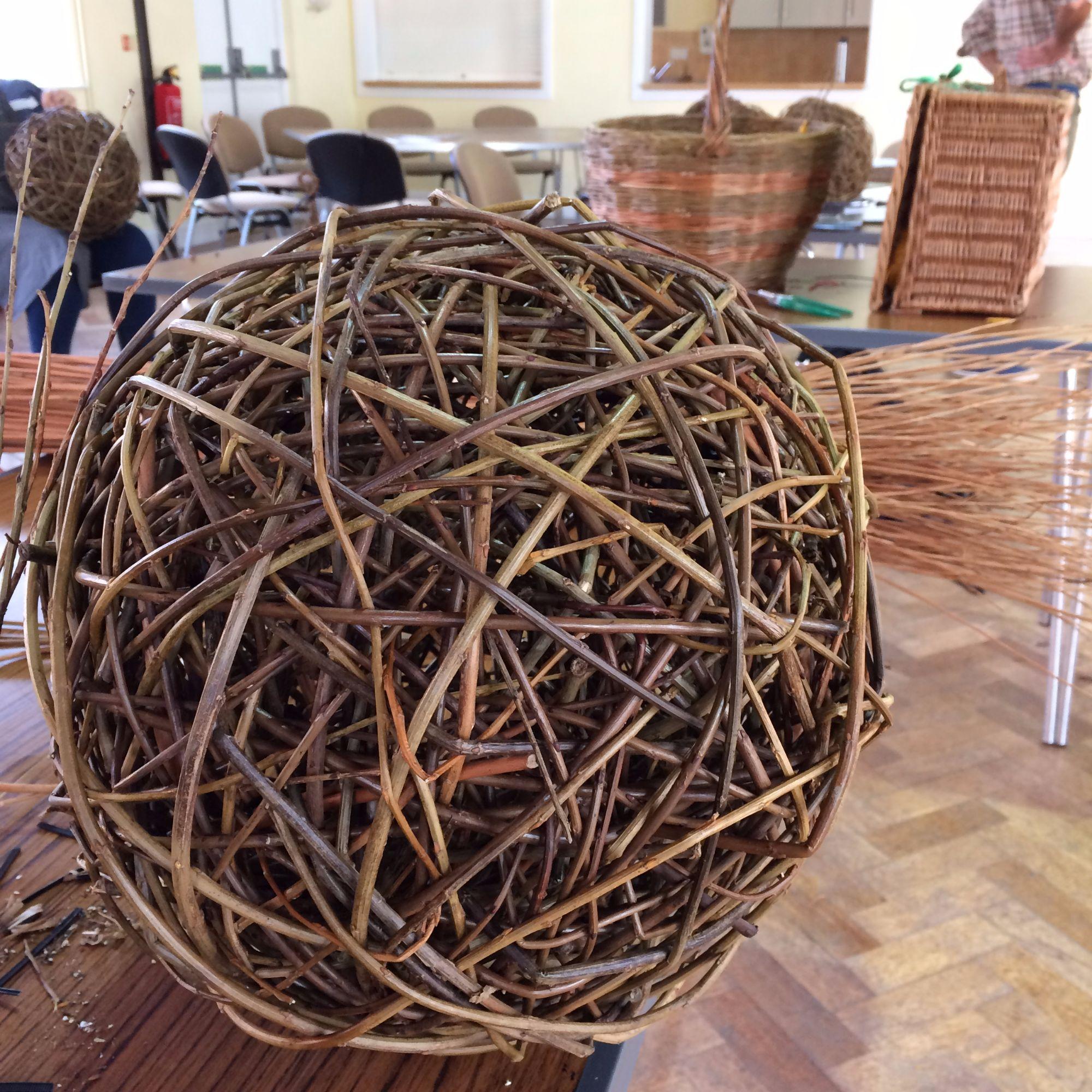 Willow Sphere Sculpture Workshop - Making