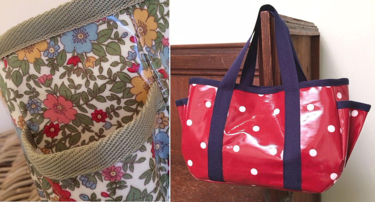 Sewing Workshop: Oilcloth Bag Saturday 7th October 2017
