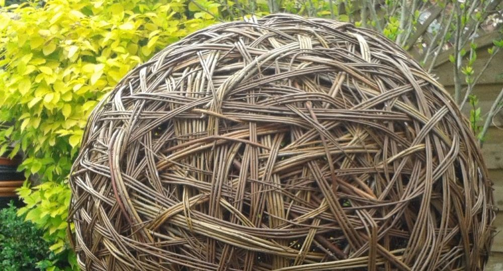 <!-- 023 --> Willow Sphere Sculpture Workshop - Saturday 31st March 2018
