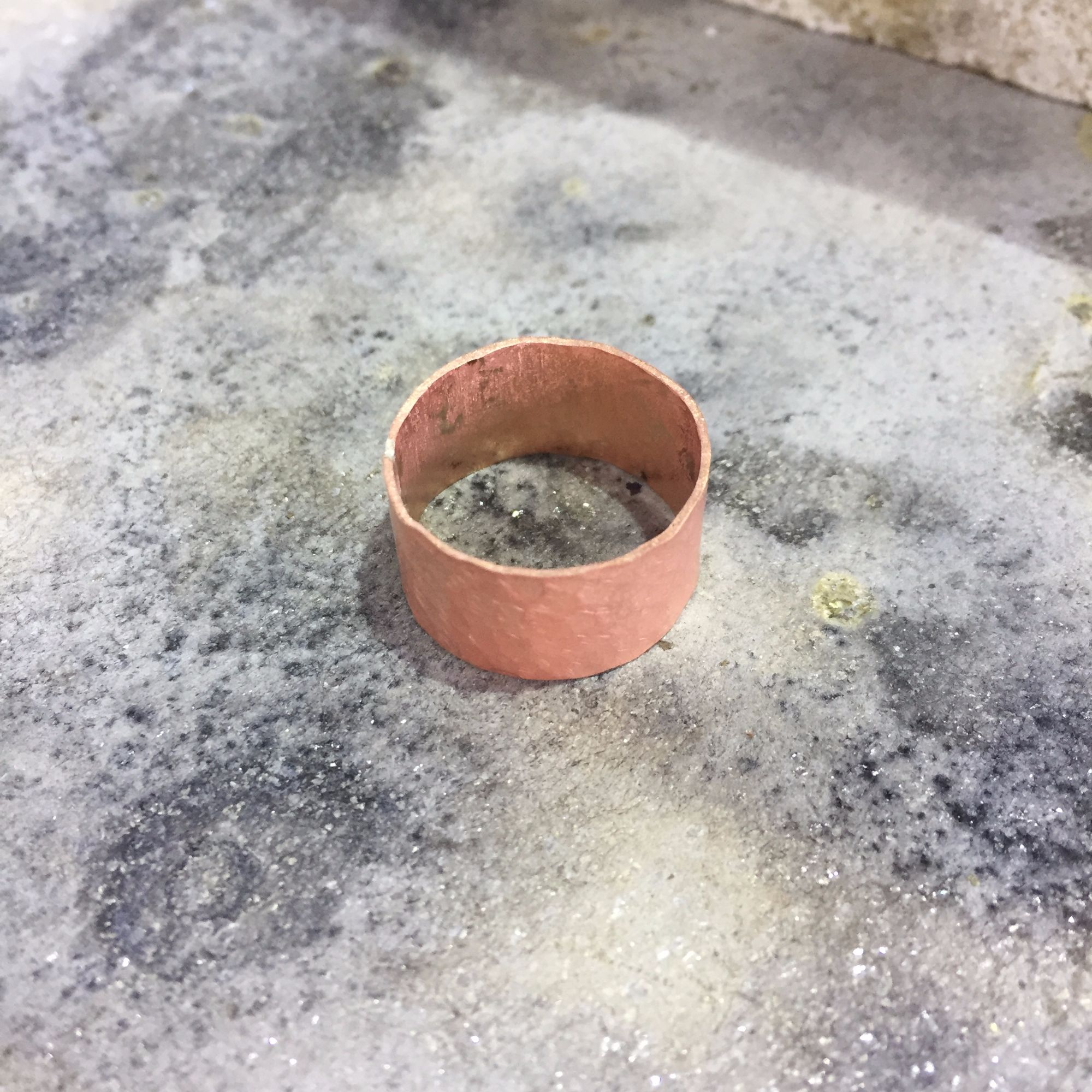 Silver Ring Workshop - Copper