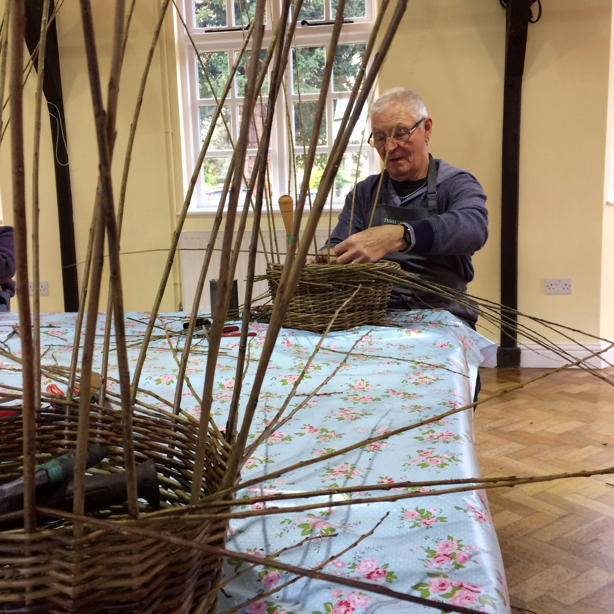 Basket Making Workshop: Fruit Basket - Weaving
