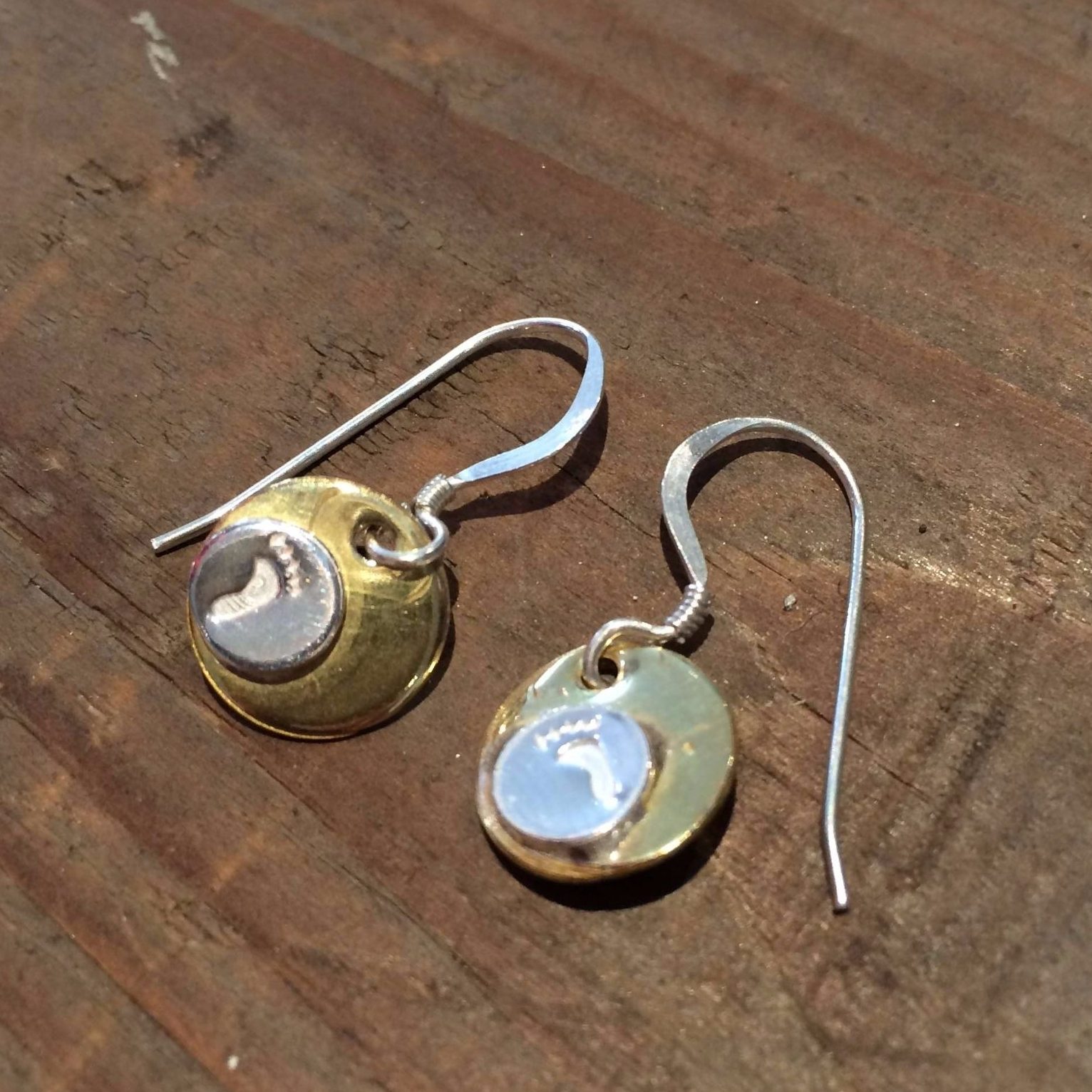 Silver Earrings and Pendant Workshop - Feet