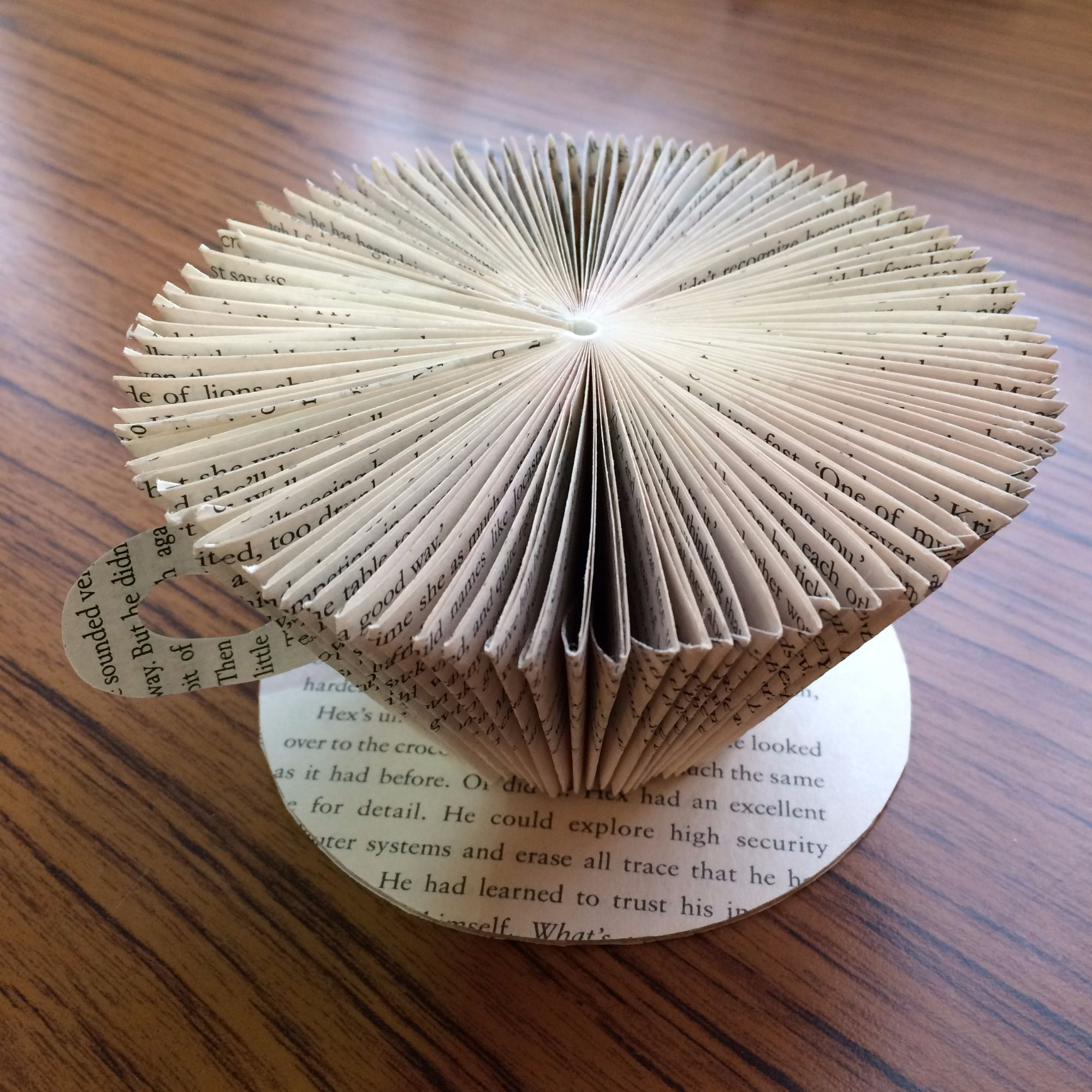 Folding Pages Book Art Workshop - Coffee Cup