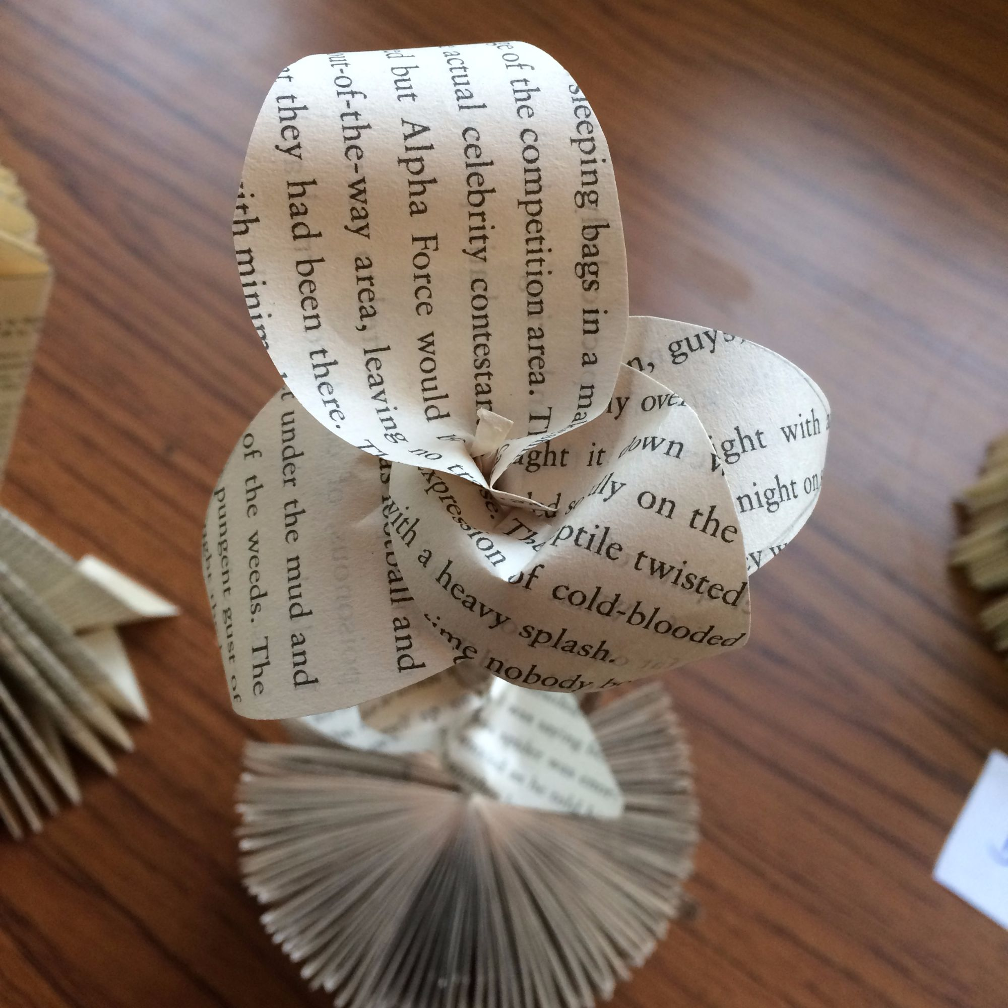 Folding Pages Book Art Workshop - Flowers