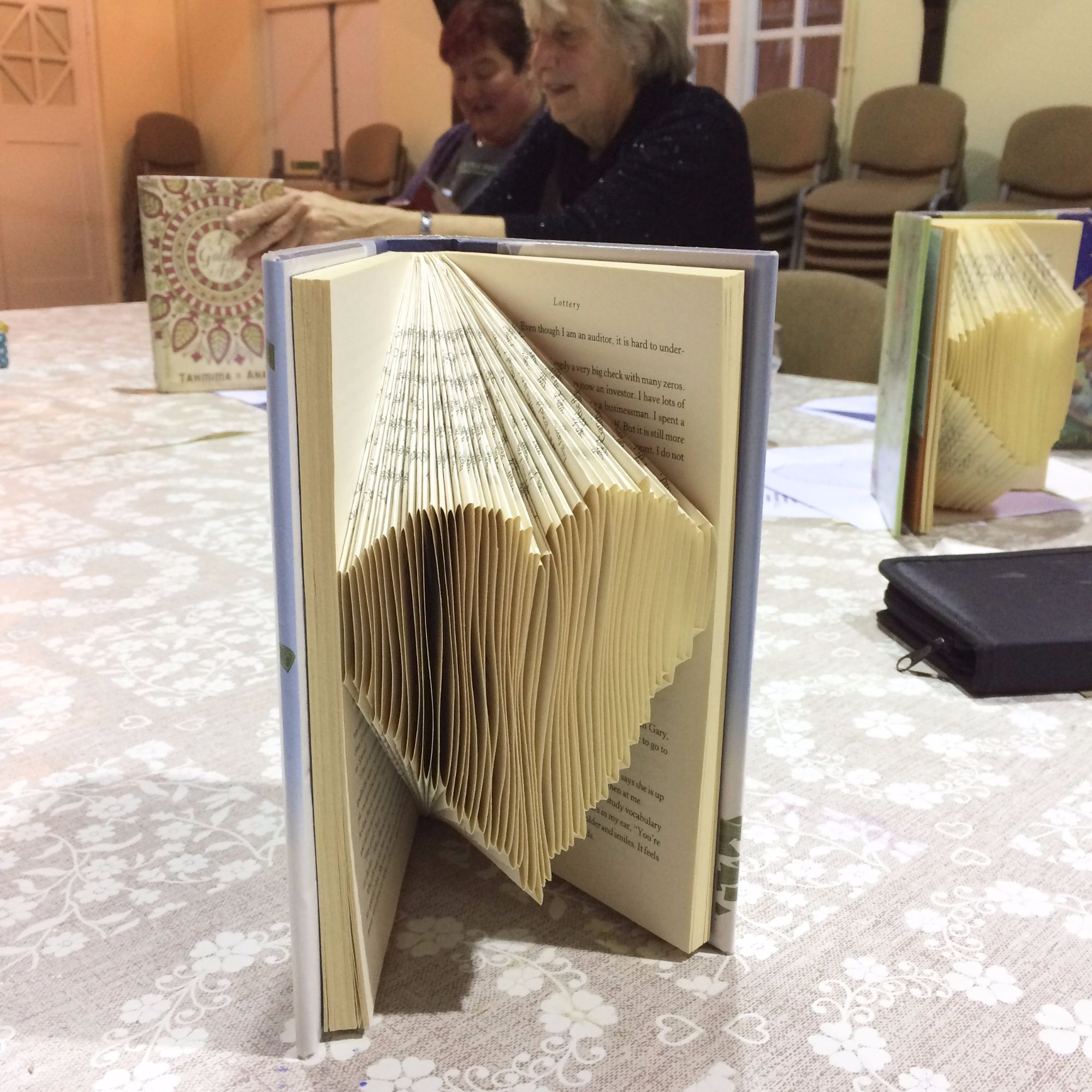 Folding Pages Book Art Workshop - Heart