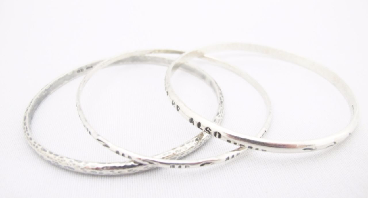 Silver Bangle Workshop