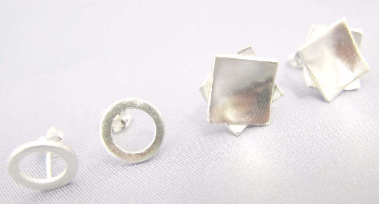 Silver Earrings and Pendant Workshop