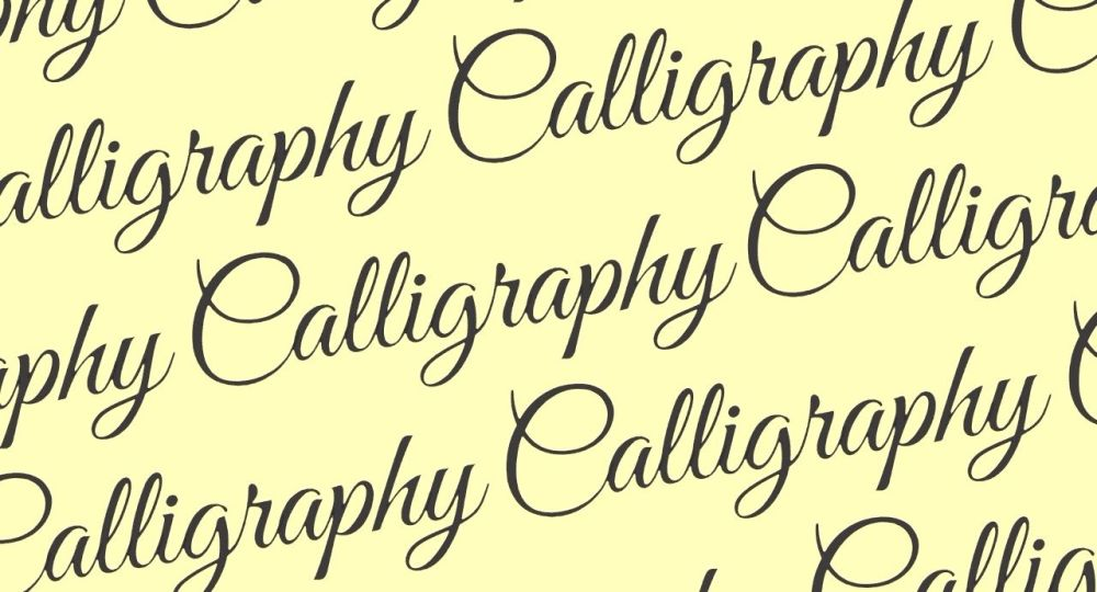 Calligraphy Workshop - Saturday 20th October 2018