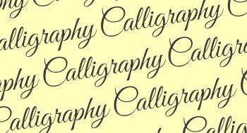 Calligraphy Workshop - Sunday 24th March 2019