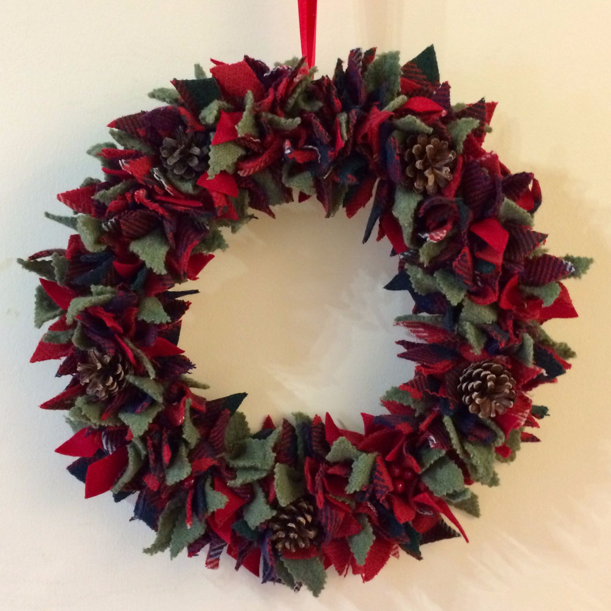 Rag Wreath Making Workshop 2