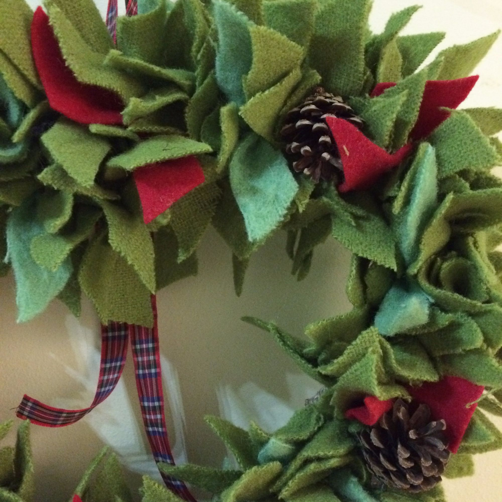 Rag Wreath Making Workshop 4