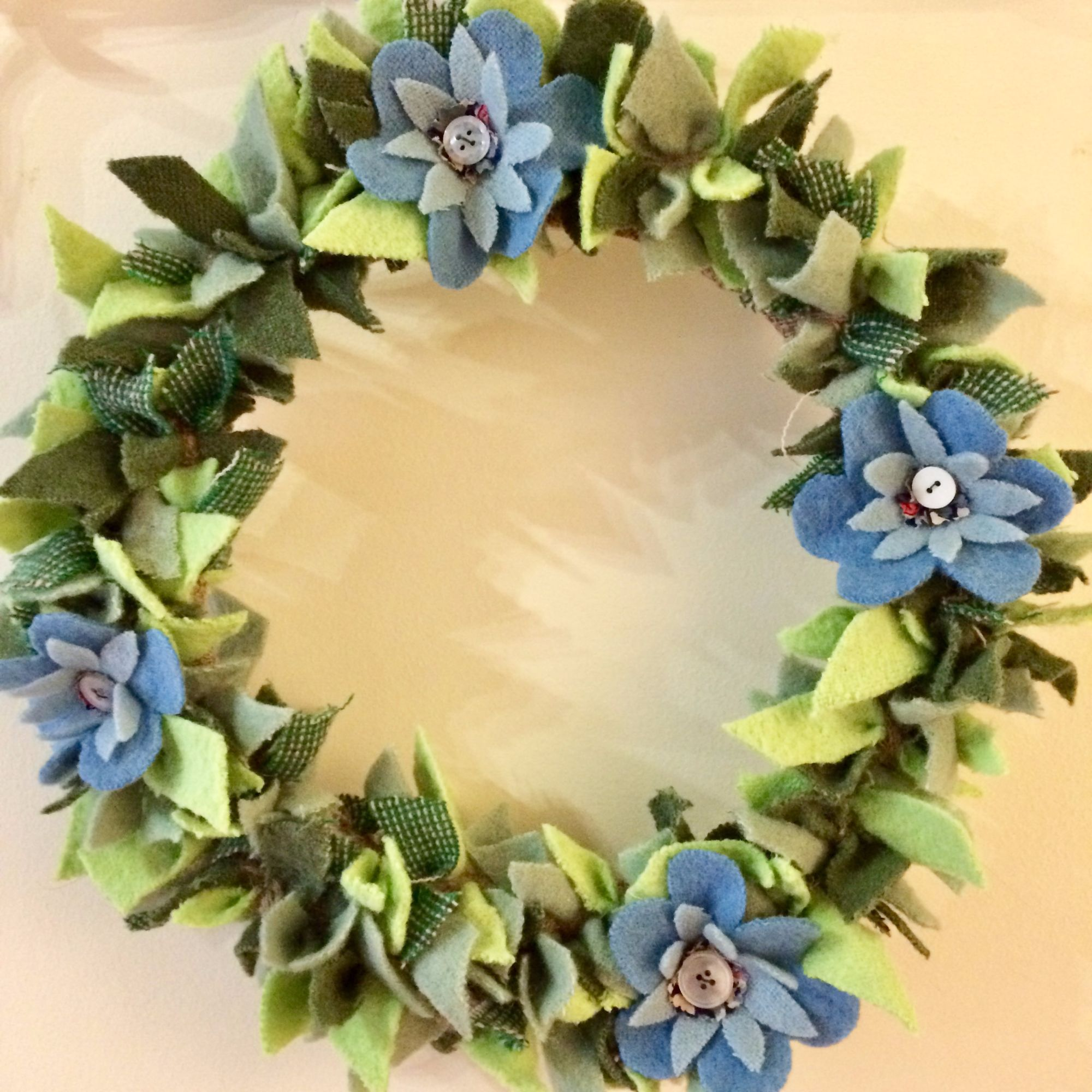 Rag Wreath Making Workshop 5